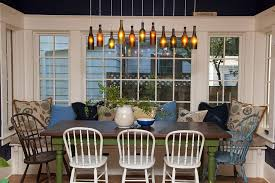 12 diy dining room chandelier view in gallery diy wine bottle lighting above the cozy dining