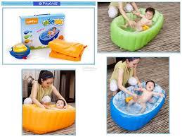 mambo baby inflatable bath tub free leg pump