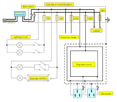 domestic electrical wiring domestic image wiring house wiring ring circuit wiring diagram schematics baudetails on domestic electrical wiring