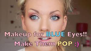 Makeup Blue Eyes Blonde Beautiful Eyeshadow