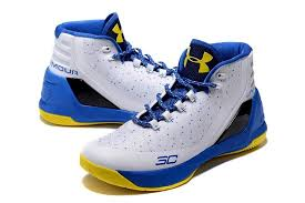 under armour shoes stephen curry 3. under armour stephen curry 3 white blue yellow basketball shoes 6