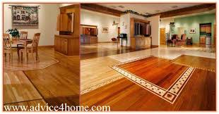 flooring for dining room. yellow-red hardwood flooring in main room and dining for e