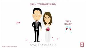 Save The Date Template 01 By Frigg Animation Bridestory Com