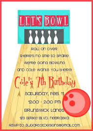 Bowling Invitation Stunning Bowling Party Invitations Ideas Free Printable Sunfestival