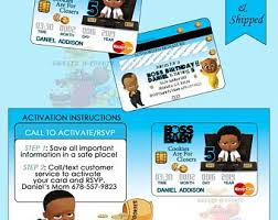 Credit Card Party Invitations Credit Card Invites Etsy