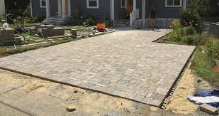 how to lay patio pavers on dirt 7