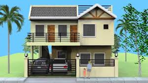 Small Picture Small 2 Storey House with Roofdeck YouTube