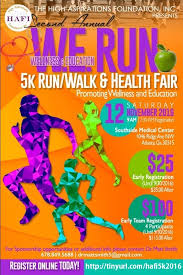 Health Fair Flyers Health 5k Run Flyers