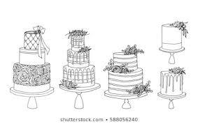 Wedding Cakes Vector Images Stock Photos Vectors Shutterstock