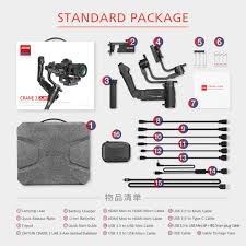 There are 3 packages of Crane 3 LAB.... - <b>Zhiyun Crane 3 LAB</b>