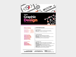 Poster Design Charges Graphic Design Agency Poster Template V2 Brandpacks