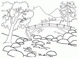 Free birthday coloring pages, choose from more than 1000 coloring pages to print. Coloring Pages Landscape Coloring Home