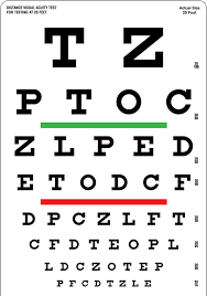 Bexco Snellen Eye Vision Chart For Testing At 20 Feet