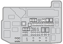 toyota prius fuse box diagram toyota toyota prius plug in hybrid 2010 fuse box diagram auto genius