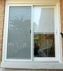 andersen hinged patio door hardware sliding doors with built in blinds images andersen patio door