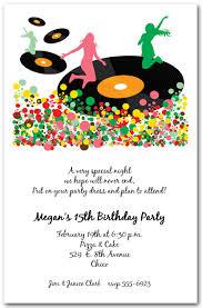 Kids Disco Invitations