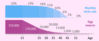 Ovarian Reserve By Age Chart