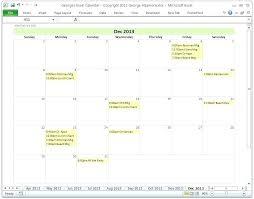 Free Microsoft Calendar Calendar Microsoft Template 2014 C Header Templates Excel