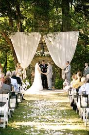 DIY Backyard Wedding Ideas  My Honeys PlaceDiy Backyard Wedding Decorations