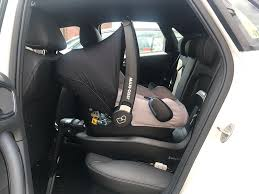 once installed in to your car the maxi cosi rock keeps your baby safe and protected right from day 1 and the seat feels really sy especially when