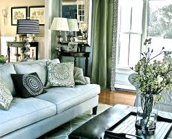 Wallofinteriorco  LivinatorSilver And Blue Living Room