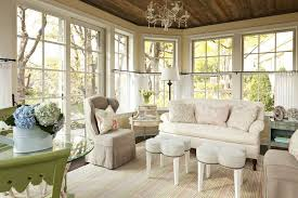 ceiling height window family room shabby-chic style with country chic  traditional artificial flowers