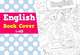 book cover english