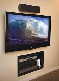 wall mounted tv modern tv wall
