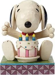 Visualizza altre idee su anniversario, buon anniversario, matrimonio. Enesco 4049417 Auguri Di Buon Compleanno Snoopy Multicolore Amazon It Casa E Cucina