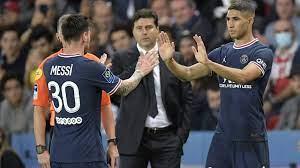PSG-Siegesserie hält – Lionel Messi verweigert Handschlag mit Trainer  Pochettino | T