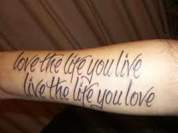 Quotes Tattoo Tech40Gadget Mesmerizing Best Tattoo Quotes About Life