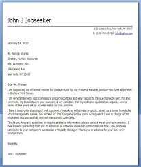 Apartment Manager Cover Letter Nice Apartement