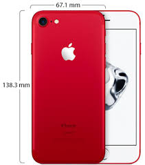 Apple iPhone 7 with FaceTime - 128GB, 4G LTE, Red   Souq - UAE