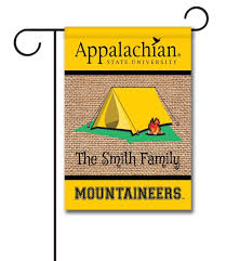 personalized app state mountaineers tent garden flag 12 5 x 18