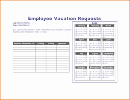 Free Time Off Request Form 24 Vacation Letter Template Free Sample Example Format Ideas Of 17