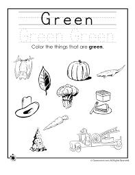 Color Worksheets For Kindergarten#512017