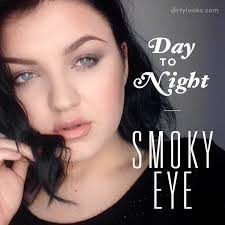 makeup looks day to night smoky eye