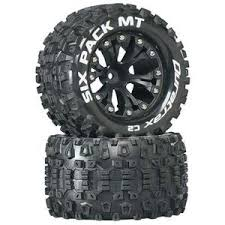 truck tires and rims. Exellent Tires DuraTrax Sixpack MT 28 Mounted Truck Tires 2WD 12 Offset Black DTXC3522 Throughout And Rims