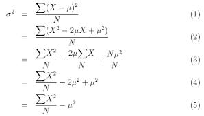 Variance Formula Variance And Standard Deviation