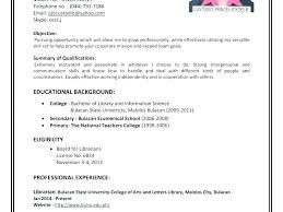 How To Make Simple Resume For A Job Create Simple Resume How To For Job Make A Basic Example Ooxxoo Co