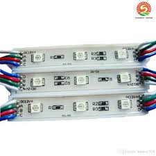 Diy Smd Led Light 2019 Diy 3 Leds Smd 5050 Led Modules Waterproof 12v Rgb Led Pixel Modules Light Ww Pw Cw R G B For Channel Letters From Sunway518 158 13