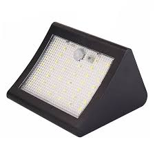 38 led solar light pir motion sensor solar outdoor garden wall light