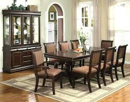 formal dining room sets for 8 black dining room table and 8 chairs 9 piece dining