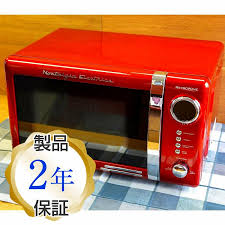 alphaespace nostalgia retro refrigerator red red nostalgia electrics retro series countertop microwave oven rmo770red rakuten global market