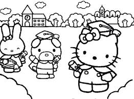 Kindergarten Graduation Day Coloring Pages Coloring For Kids 2019