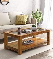 mckaine solid wood coffee table