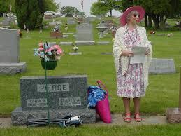 Tampico Memorial Day Cemetery Walk - Tampico, Whiteside County, Illinois