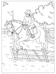 Spring Paarden Kleurplaten Kerst 2018