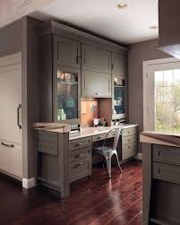 home office cabinetry design. Wonderful Cabinetry Kraftmaidhomeofficeingarrisonsquaremaple With Home Office Cabinetry Design O