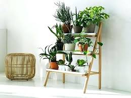 skinny planter stand diy flower indoor on wooden uk refresh your space with a plant or architectures good looking stepladder view in gallery pl